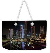Central Business District, Singapore Weekender Tote Bag