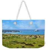 Central Coast Panorama - Hwy 1 Weekender Tote Bag by Lynn Bauer