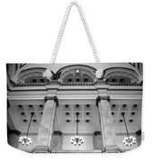 Central Library Milwaukee Interior Bw Weekender Tote Bag