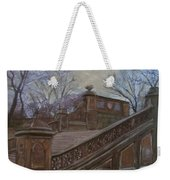 Central Park Bethesda Staircase Weekender Tote Bag