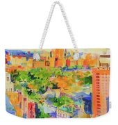 Central Park From The Carlyle Weekender Tote Bag