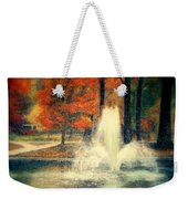 Central Park In Autumn Weekender Tote Bag