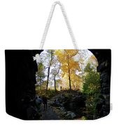 Central Park North Woods In The Fall Weekender Tote Bag