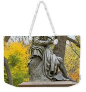 Central Park Robert Burns Statue Weekender Tote Bag