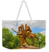 Central Park Sculpture-general Sherman Weekender Tote Bag