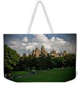 Central Park Skies Weekender Tote Bag