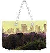 Central Park Skyline Weekender Tote Bag
