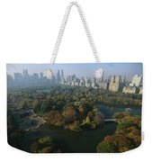 Central Parks Bethesda Fountain Weekender Tote Bag