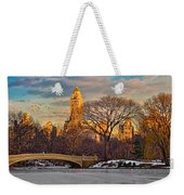 Central Parks Famous Bow Bridge Weekender Tote Bag