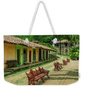 Central Plaza In Copala Weekender Tote Bag