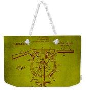 Centrifugal Gun Patent Drawing 3j Weekender Tote Bag