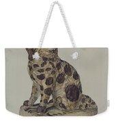 Ceramic Coach Dog Weekender Tote Bag
