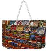 Ceramic Dishes Weekender Tote Bag