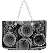 Ceramic Pots Bw Weekender Tote Bag