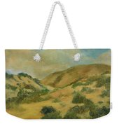 Cerillos Hills New Mexico Weekender Tote Bag