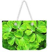 Certain Green Weekender Tote Bag