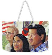 Cesar Chavez And La Causa Weekender Tote Bag