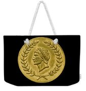 Julius Cesar Roman Coin Weekender Tote Bag
