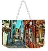 Cesky Krumlov Alley Weekender Tote Bag