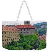 Cesky Krumlov Castle Complex In The Czech Republic Weekender Tote Bag