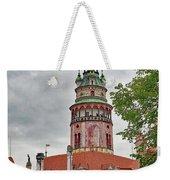 Cesky Krumlov Castle Tower In Cesky Krumlov Of The Czech Republic Weekender Tote Bag