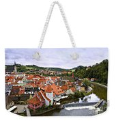 Cesky Krumlov Overview 2 Weekender Tote Bag