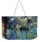Cezanne: Annecy Lake, 1896 Weekender Tote Bag