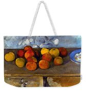 Cezanne: Apples & Biscuits Weekender Tote Bag