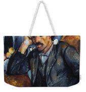 Cezanne: Pipe Smoker, 1900 Weekender Tote Bag