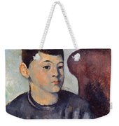 Cezanne: Portrait Of Son Weekender Tote Bag