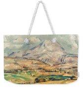 Cezanne: St. Victoire, 1897 Weekender Tote Bag