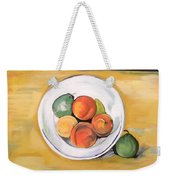 Cezannes Fruit Bowl Weekender Tote Bag