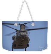 Ch-47 Chinook Flies Over Playas Weekender Tote Bag