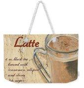 Chai Latte Weekender Tote Bag