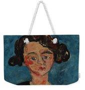 Chaim Soutine 1893 - 1943 Portrait De Jeune Fille Paulette Jourdain Weekender Tote Bag