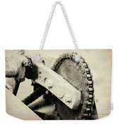 Chain And Gear Weekender Tote Bag