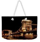 Chain Bridge - Budapest Weekender Tote Bag