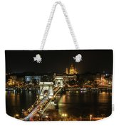 Chain Bridge Weekender Tote Bag