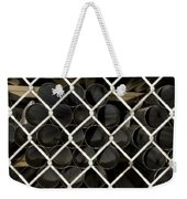 Chain Link Pipe Weekender Tote Bag