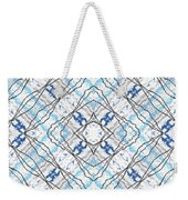 Chain Of Clouds Pattern Weekender Tote Bag