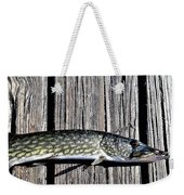 Chain Pike Weekender Tote Bag