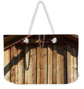 Chain Up Weekender Tote Bag