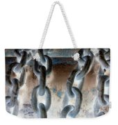 Chains - Nagative Weekender Tote Bag