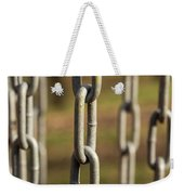 Chains Abstract 1 Weekender Tote Bag
