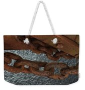 Chains To The Sea Weekender Tote Bag