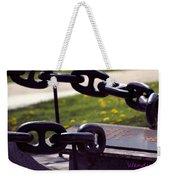 Chains Weekender Tote Bag