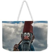 Chainsaw Art Gnome Weekender Tote Bag