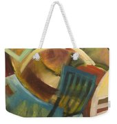 Chairs Around The Table Weekender Tote Bag