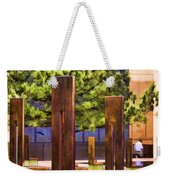 Chairs At The Gate Weekender Tote Bag