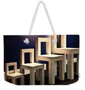 Chairs For A Bear Family Weekender Tote Bag